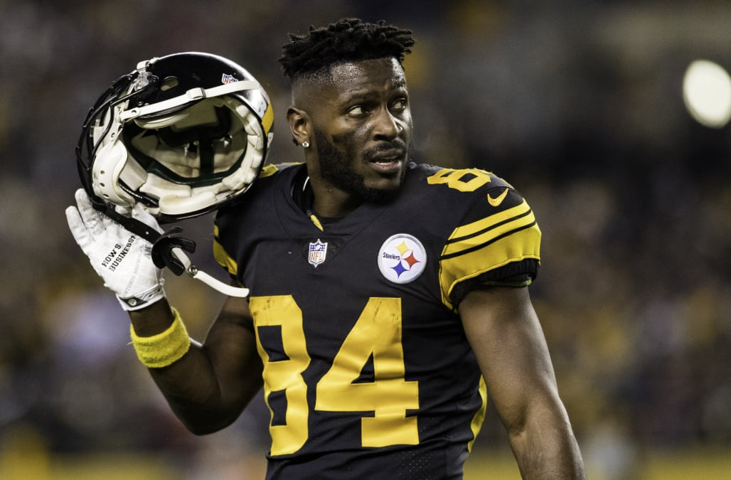 8507a639e Antonio Brown s conflict with the Steelers may have started with team MVP  snub. Yahoo Sports
