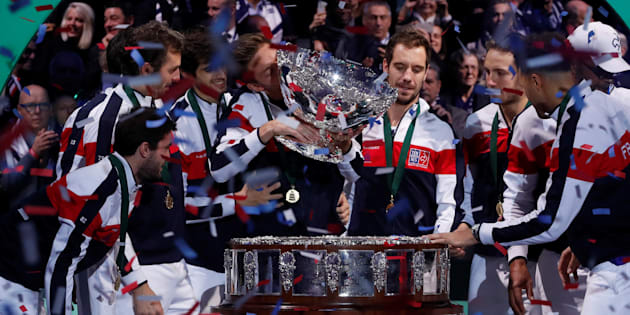 Coupe Davis: la France remporte son dixième Saladier d'argent
