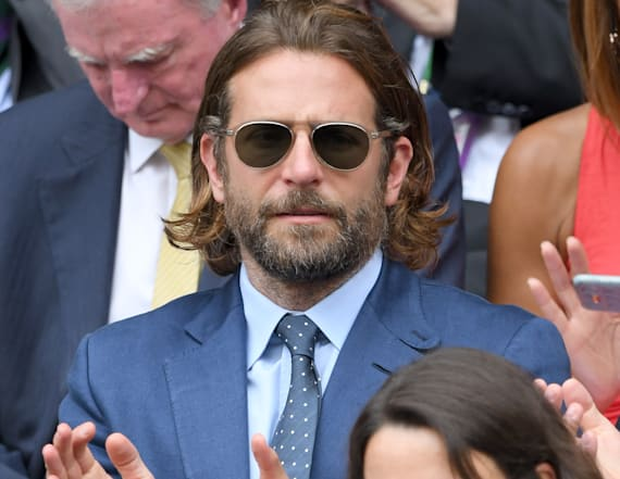 Bradley Cooper spotted rocking a ponytail