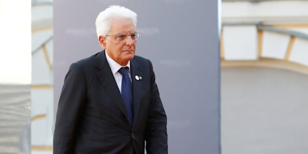 President of Italy Sergio Mattarella arrives to the Arraiolos Group meeting at Rundale Palace, Latvia, September 13, 2018. REUTERS/Ints Kalnins