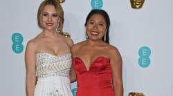 Crea controversia el vestido de Yalitza Aparicio en los
