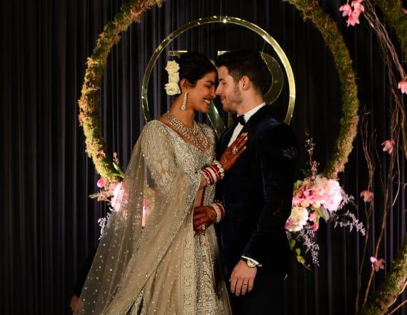 Priyanka Chopra dazzles in Ralph Lauren bridal gown