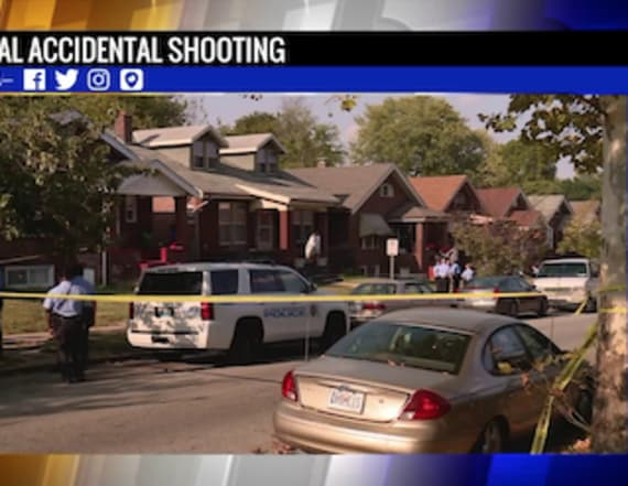 Man dies after being shot by child playing with gun