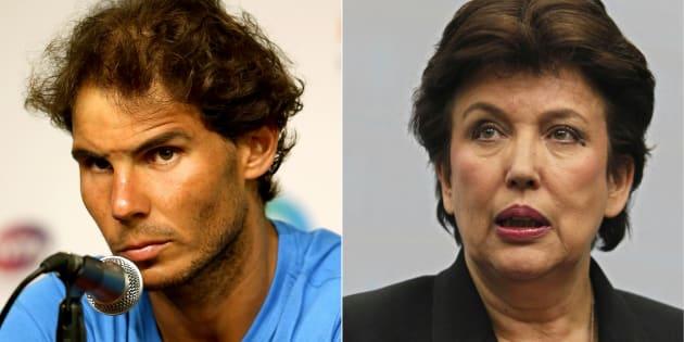 Rafael Nadal demande 100.000 euros à Roselyne Bachelot, l'ancienne ministre en propose 1