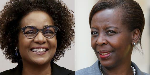 Michaëlle Jean et Louise Mushikiwabo s'affrontent pour obtenir la direction de l'Organisation internationale de la Francophonie.