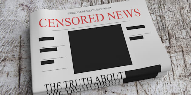 Censorship News Concept