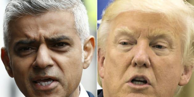"""Attentat de Londres: Donald Trump raille encore le maire Sadiq Khan et ses """"excuses pathétiques"""""""