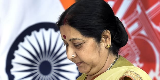 Minister of External Affairs Sushma Swaraj in a file photo.