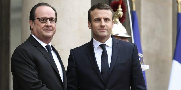 Macron est-il comptable des bons (ou des mauvais) résultats du chômage du quinquennat Hollande?