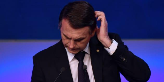 Jair Bolsonaro é o mais rejeitado dos candidatos à Presidência.