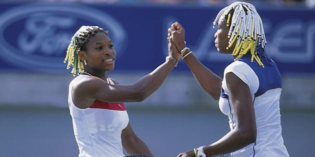 Venus won the match, but the hair was definitely a tie.