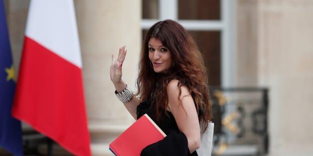 Marlène Schiappa à l'Elysée le 24 mai 2017.
