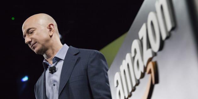 El fundor y CEO de Amazon, Jeff Bezos.