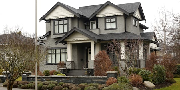 A home owned by the family of Huawei CFO Meng Wanzhou, who is being held on an extradition warrant, is pictured in Vancouver, Dec. 8, 2018.