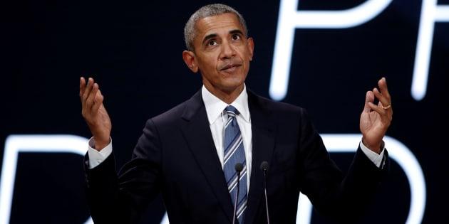 Le discours convenu de Barack Obama à Paris