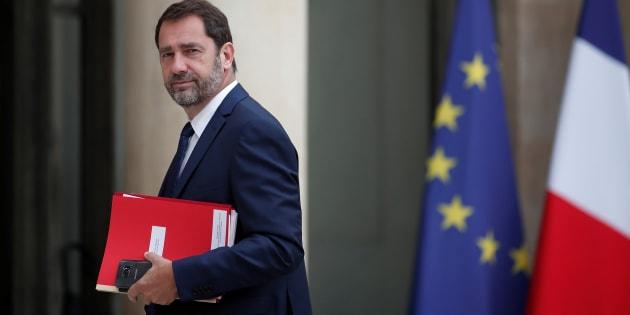 Le porte-parole du gouvernement Christophe Castaner, le 24 mai à l'Elysée.