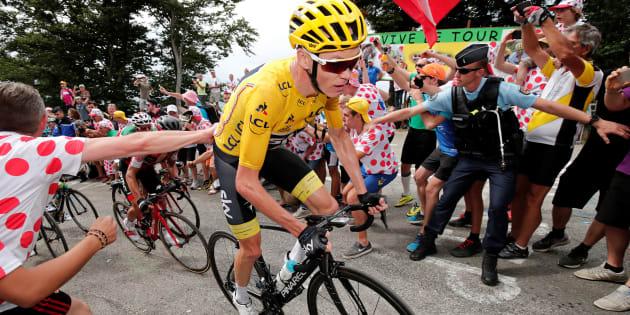 Tour de France 2018: quelle sécurité pour Chris Froome, plus que jamais en première ligne?