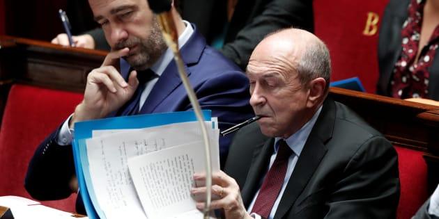 Gérard Collomb à l'Assemblée nationale le 13 décembre.
