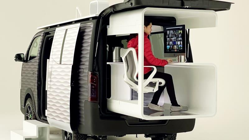 Nissan представит модельный ряд Tokyo Auto Salon 2021 года с мобильным офисным фургоном