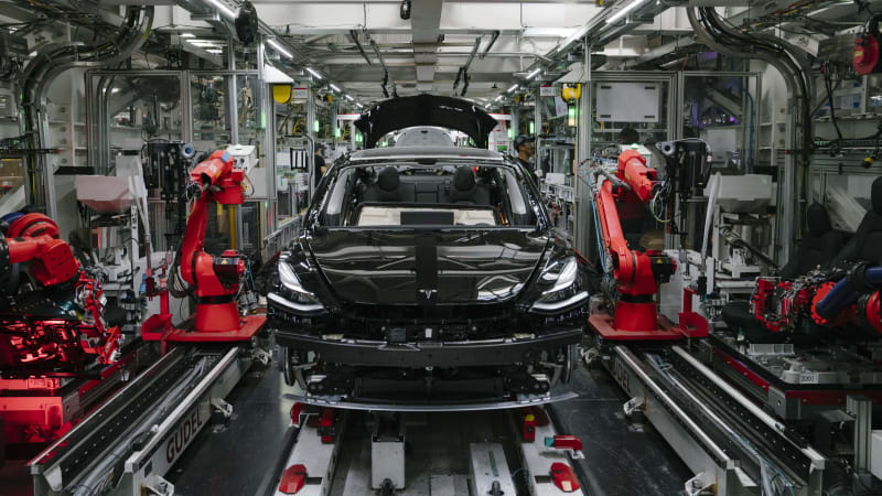 Tesla Model Y crossover EV will be built at main plant, Musk