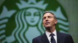 Le PDG de Starbucks quitte