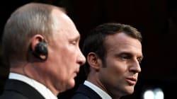 Face à Poutine, Macron veut corriger sa diplomatie