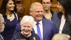 Ford Promises Sweeping Changes For Ontario In Throne