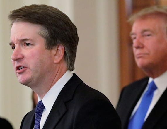 Kavanaugh says he will not withdraw nomination