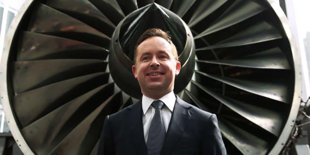 Qantas CEO Alan Joyce's pay packet has taken off.