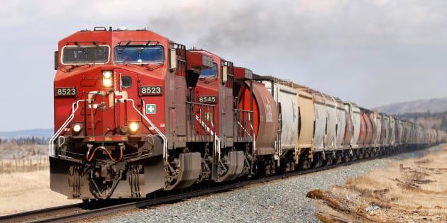 La grève des chefs de train et mécaniciens du CP est lancée