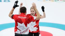 Le Canada remporte la première présentation du curling