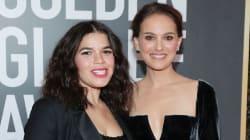 Muestran solidaridad durante los Golden Globes con un atuendo