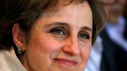 Carmen Aristegui venció la censura: comienza programa en Grupo Radio