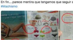 El catálogo de bañadores que indigna por su machismo: