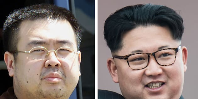 Kim Jong-Nam and his brother Kim Jong-Il