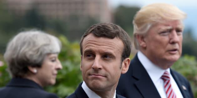 Le premier G7 d'Emmanuel Macron et Donald Trump peut-il échouer à cause du climat?