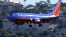 Un autre avion de Southwest Airlines fait un atterrissage