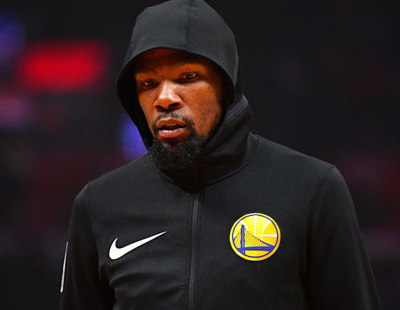 Report: 'No way' Durant remains in Golden State