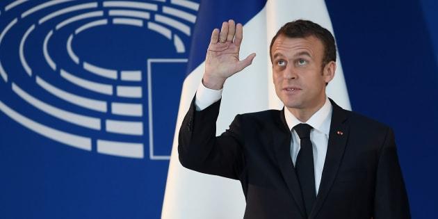 """Pour Macron, """"nous vivons quelque chose de très différent"""" de Mai 68"""