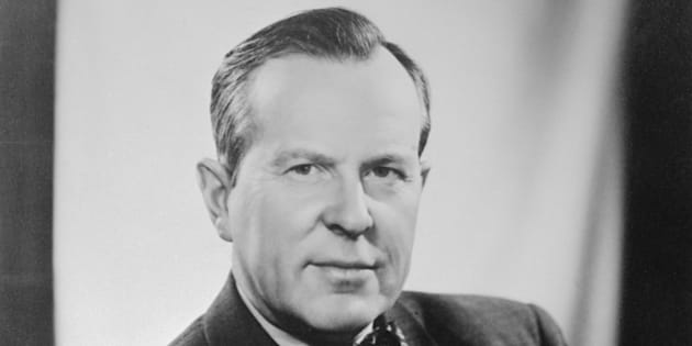 (Original Caption) Portrait of Lester B. Pearson (1897-1972), Canadian politician.