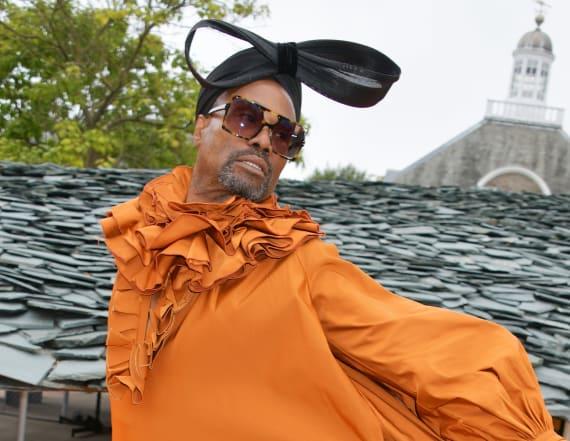 Billy Porter slays London Fashion Week in 14 looks