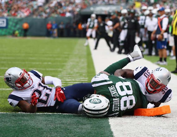 Jets star slams 'BS call' made in loss to Patriots