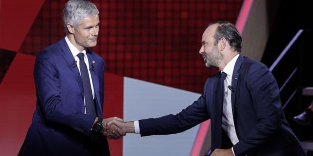 Philippe et Wauquiez chassent les électeurs de droite en s'accusant de traîtrise.