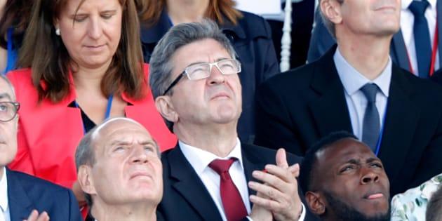 """""""Jupiter déraille"""": Jean-Luc Mélenchon soutient le général de Villiers contre Macron."""