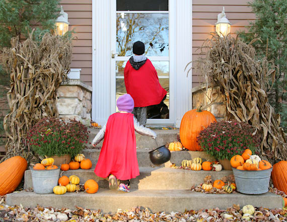 The best US city for trick or treating is ...