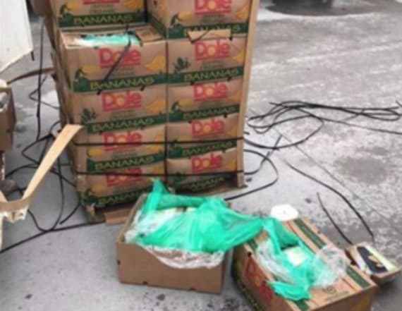 $17.8M worth of cocaine hidden in donated fruit