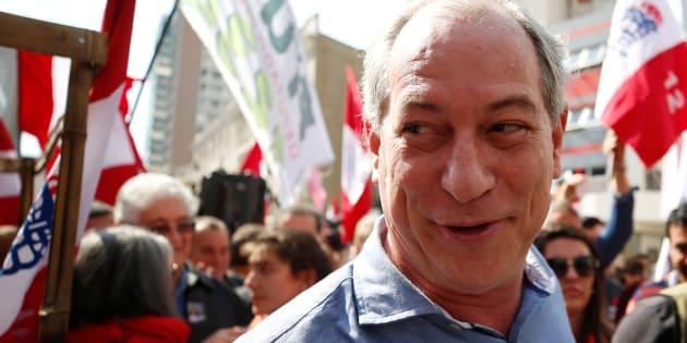 """""""Haddad não só perdeu para o João Doria, que é um grande farsante, mas perdeu para os votos nulos e brancos"""", disse Ciro."""