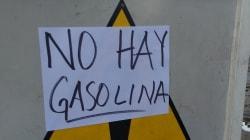 VIDEO: Automovilistas hacen largas filas para cargar gasolina en