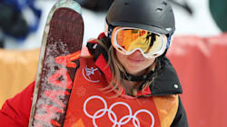 This Olympic Skier Isn't Very Good, But She's Living Her Best