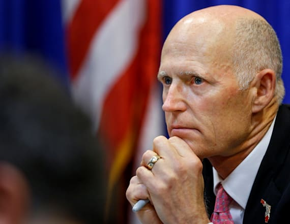 Fla. Gov. Scott opposes Trump's idea to arm teachers